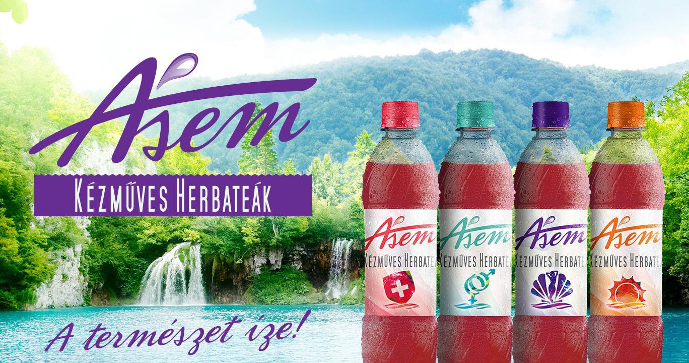 ÁSEM - Kézműves Herbatea termékcsalád