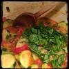 #Homemade #Zucchini and #Tomatoes #CucinaDelloZio - fresh basil
