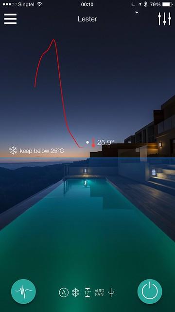 Ambi Climate iOS App - Away Mode