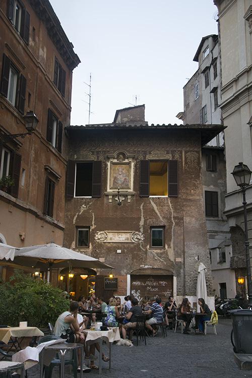 Rome Piazza del Biscione