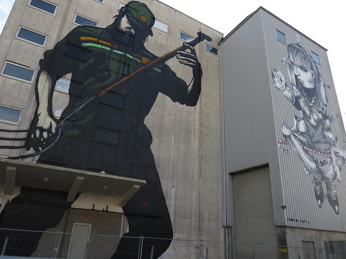 Mural by Pøbel and Ethos