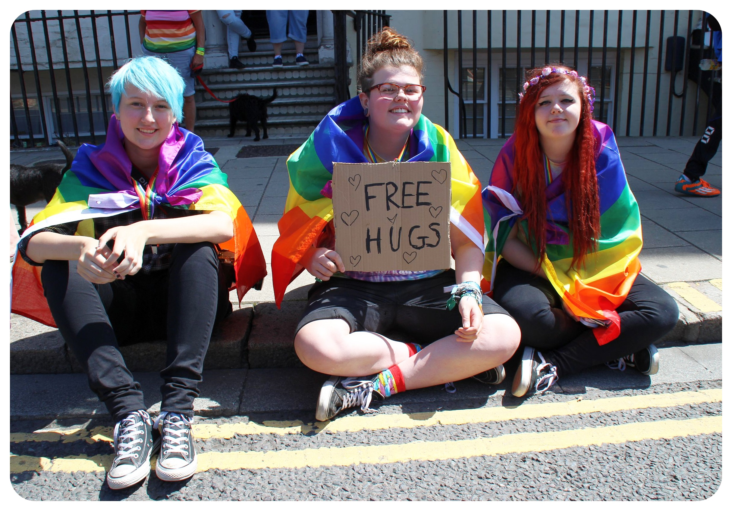 brighton pride 2015 girls