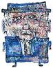 Leonard Cohen by justinaerni