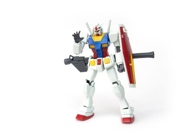 [玩具] 滿滿的爽快感!新生 REVIVE 版 RX-78-2 鋼彈組裝分享 @3C 達人廖阿輝
