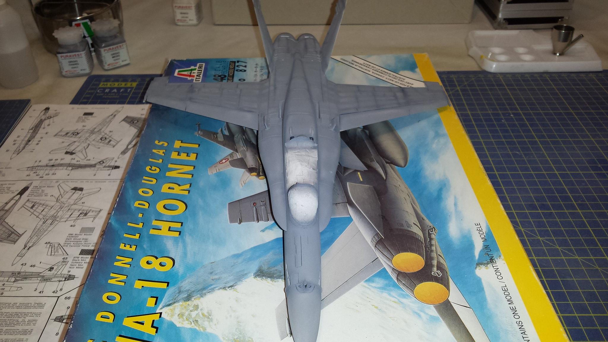 """F/A 18 C Hornet """"Patriot Vigilantes"""" - ModelingTime.com"""