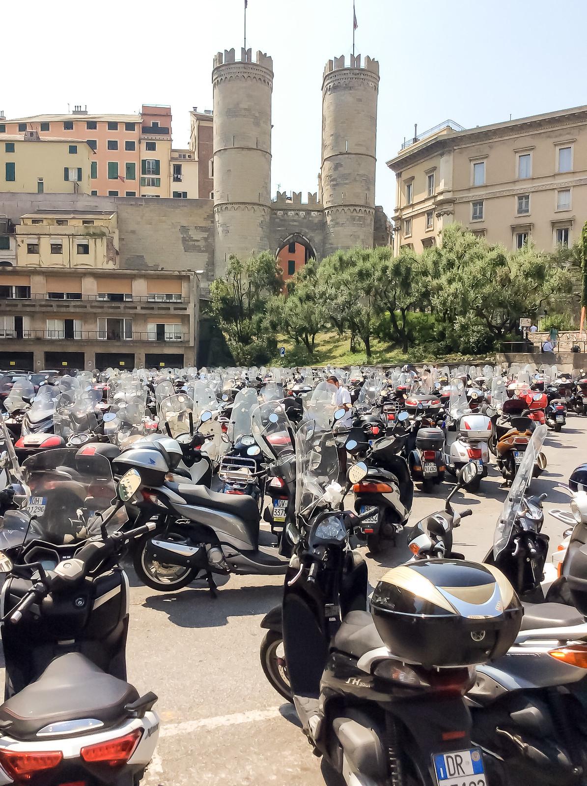 Генуя - Площадь Данте (Piazza Dante)