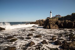 Portland Headlight is the most photographed lighthouse in America. I hope I did it justice. #travel #maine #portland