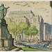 Vue sur la rue Dorchester et le square Dominion - P825,S2,SS2_1954_007 by Bibliothèque et Archives nationales du Québec