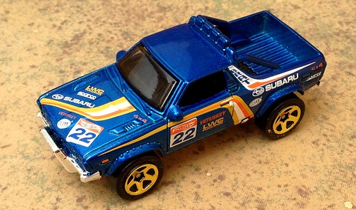 Hot Wheels - Subaru BRAT