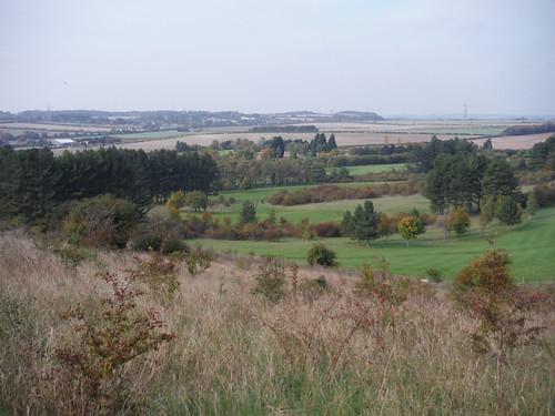 South Bedfordshire Golf Club, below Warden Hill