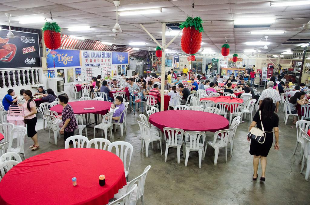 Interior of Kedai Makanan Seremban (芙蓉烧蟹海鲜村)