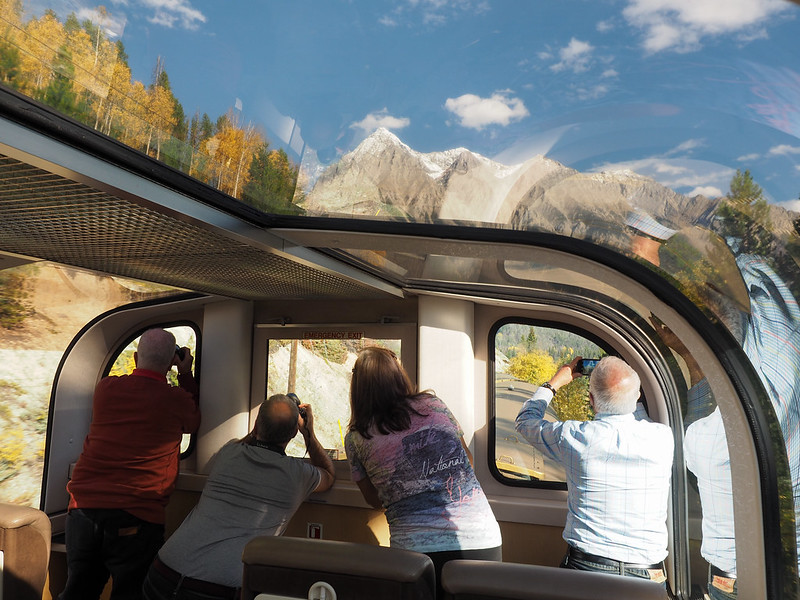 Aboard the Rocky Mountaineer
