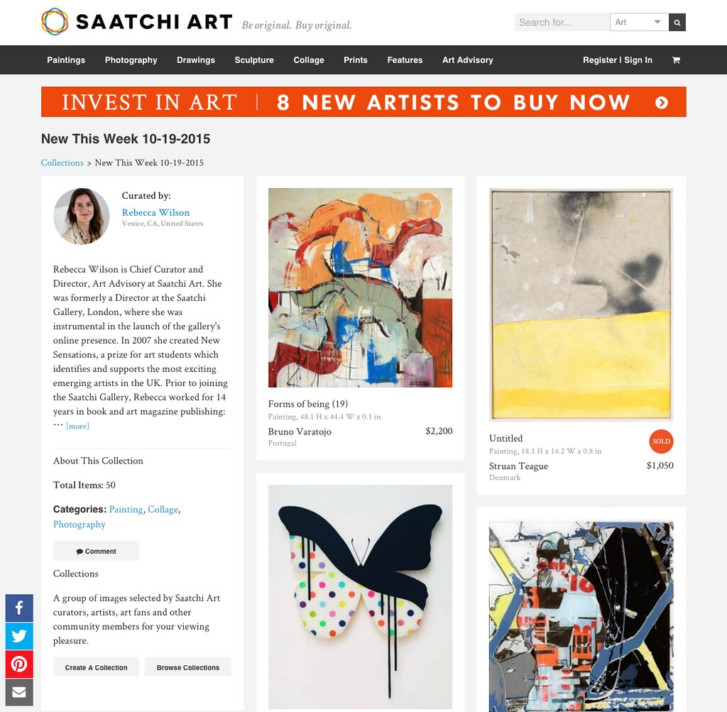 "SAACHI ART ""New This Week"""