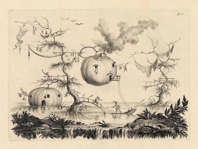 008-Raccolta delle cose più notabili veduta…1766-67- Filippo Morghen- Yale University Art Gallery