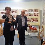 Die Gäste in unserer Heimatausstellung. Sie kamen von Novi Sad über Hatzfeld und reisen von Billed weiter nach Temeswar.