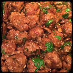 #Homemade Mini #Meatballs & #Mushrooms #CucinaDelloZio