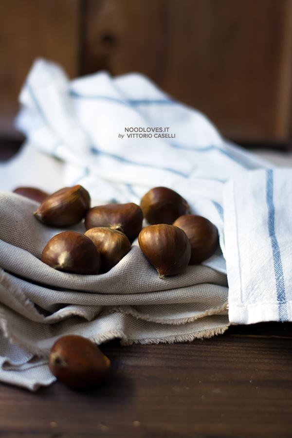Castagne e salame di cioccolato