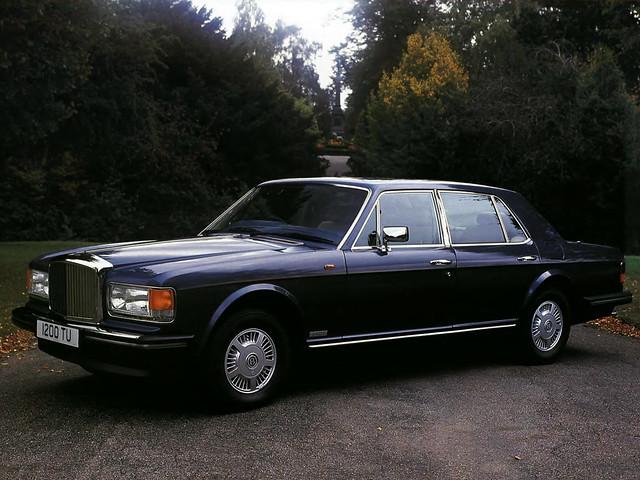 Bentley Mulsanne S для рынка Британии. 1987 – 1992 годы