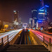 Night Walk at La Defense by Bernardo Ricci Armani PhotographingAround.Me