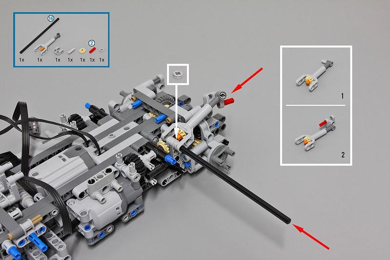 lego moc 3681 lego technic custom forklift mk ii technic. Black Bedroom Furniture Sets. Home Design Ideas