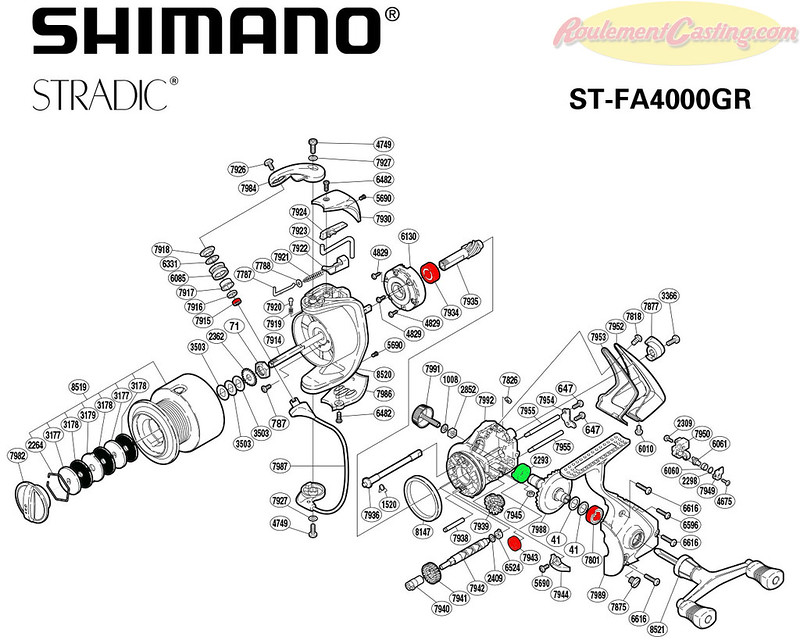 Schema Stradic FA4000GR