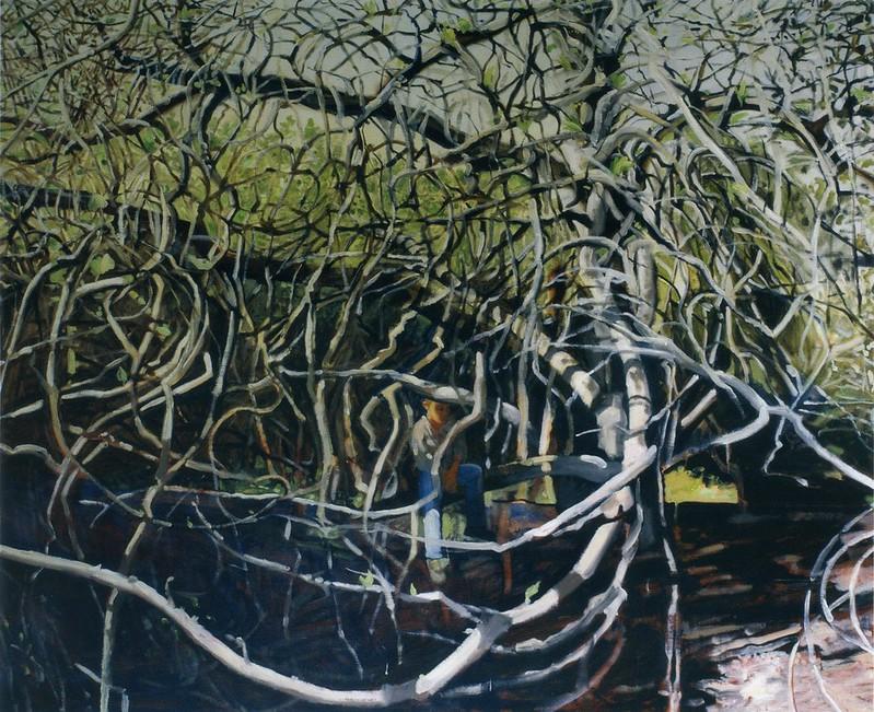 Figuier, Ajaccio, huile sur toile, 130 x 162 cm, 2005