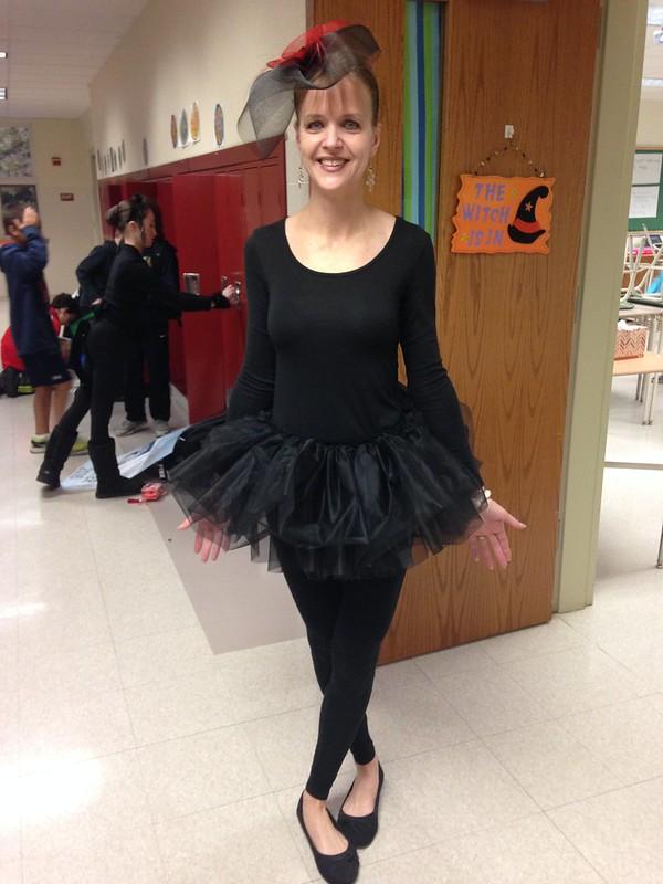 Goth ballerina