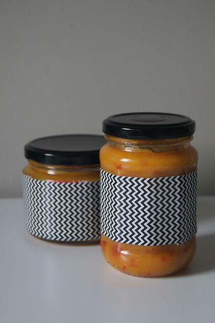 Mango chutney (processed sugar free) DSC05814