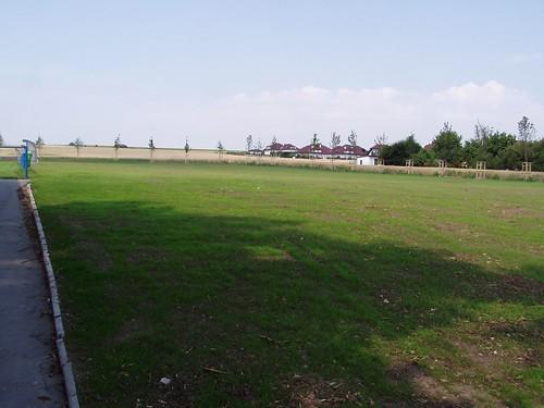 2005 - Úprava okolí fotbalového hřiště