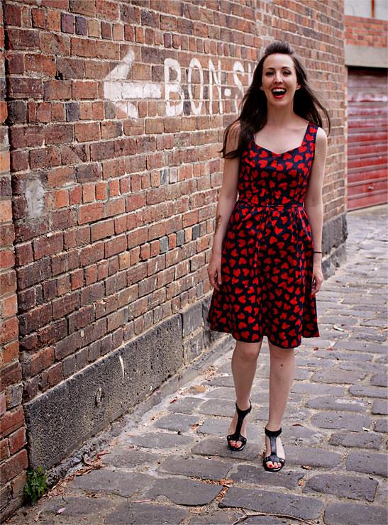 Red Heart Dress #1