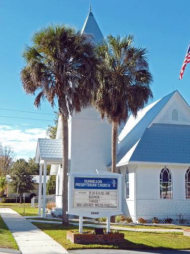 church sign architecture florida palmtrees gothicrevival dunnellon