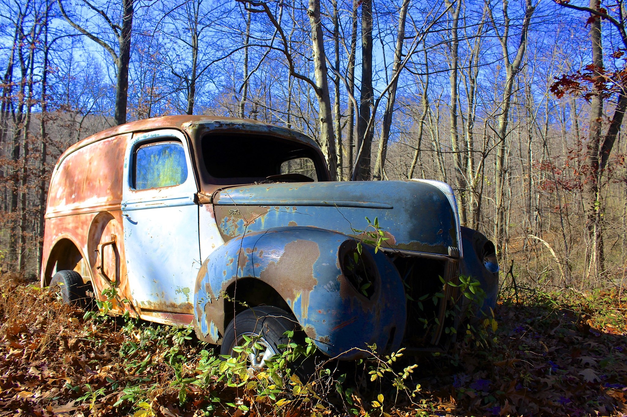 abandoned Ford 3