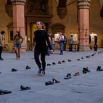 Bologna - Cortile d`onore del Palazzo Comunale
