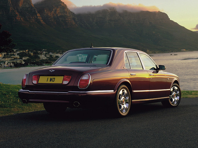 Bentley Arnage R 2002 года