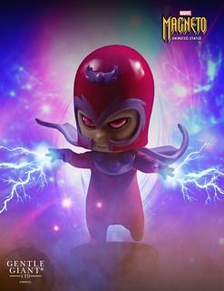史上最可愛的強力吸鐵?!Gentle Giant【萬磁王】Magneto Animated Statue 全身雕像作品