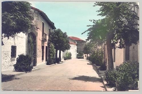 Castellar de Santiago : Calle José Antonio.
