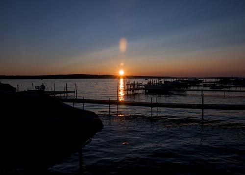 wood sunset summer vacation sky sun lake ny newyork reflection water weather clouds docks boats boat dock nikon august reflect handheld nikkor amateur 2015 18200mm d90 lakechautauqua chautauquacountyny