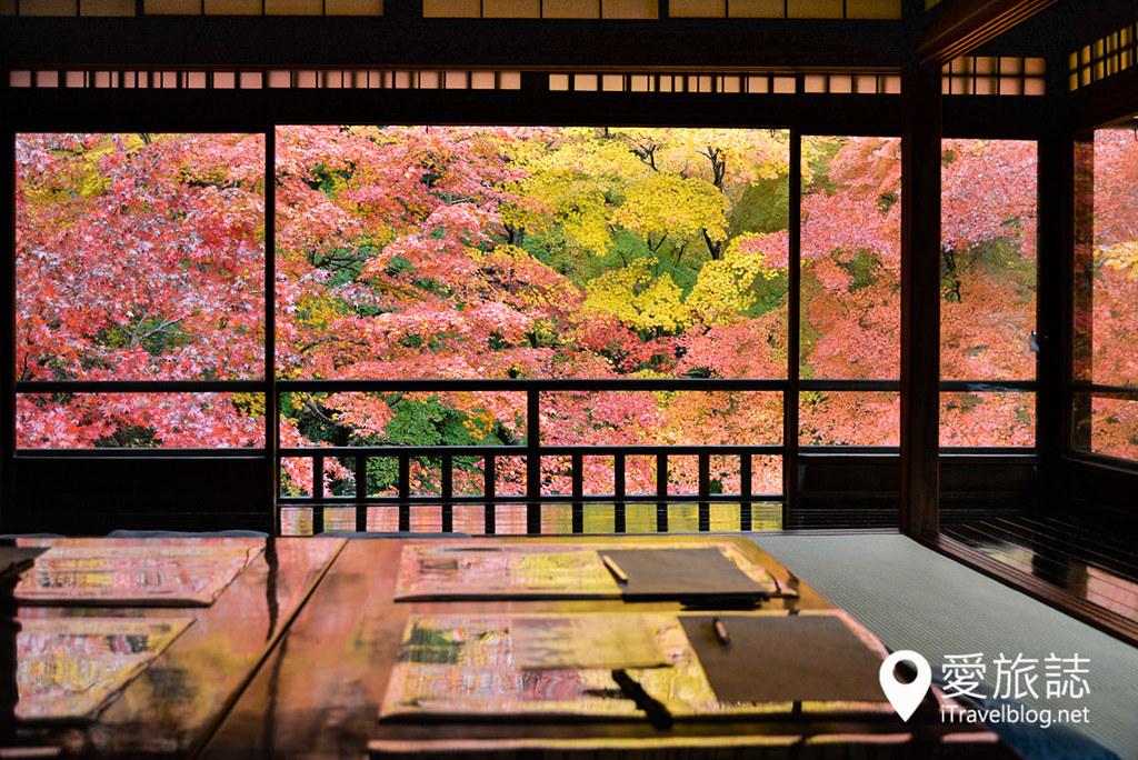 京都赏枫景点 琉璃光院 24