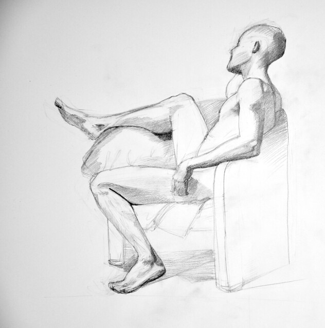 long pose figure drawing