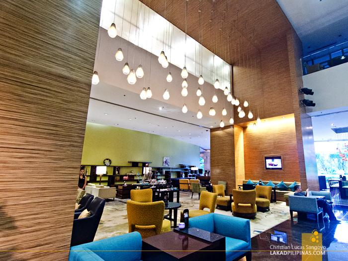 Marriott Manila Lobby
