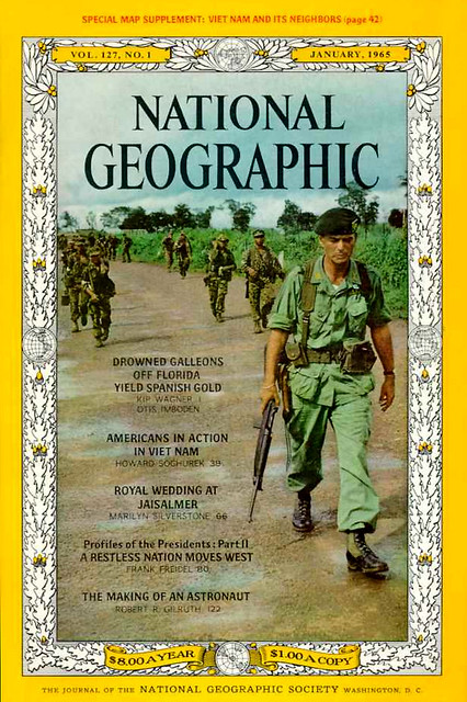 NATIONAL GEOGRAPHIC Magazine January 1965 (1) - AMERICANS IN ACTION IN VIETNAM
