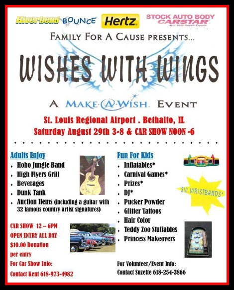 Wishes With Wings 8-29-15