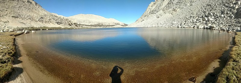 Panorama of the western shore of Cottonwood Lake Number 4