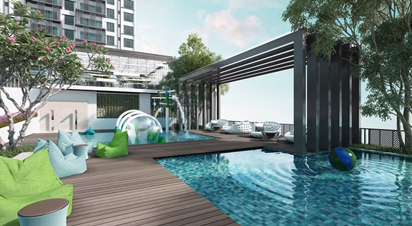 NK Residences - Pool