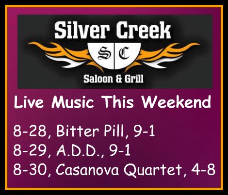 Silver Creek 8-28 thru 8-30-15