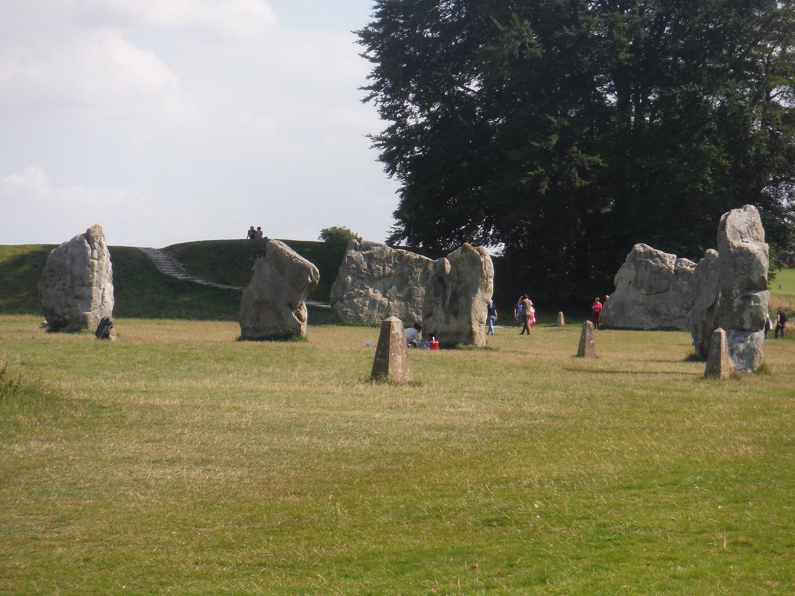 Avebury Standing Stones, SE quartile SWC Walk 255 Pewsey or Marlborough Circular via Avebury