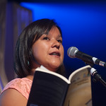 Innu Poetry from the Canadian Tundra - Naomi Fontaine | In this incredible event, three Innu poets collaborated with three Scotland-based poets to produce brand new poetry  © Alan McCredie