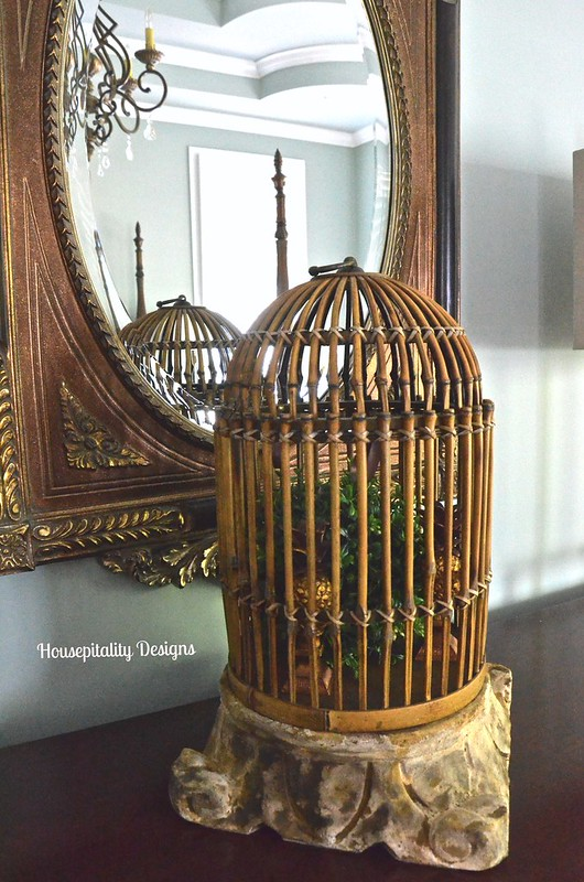 Bamboo Birdcage - Housepitality Designs