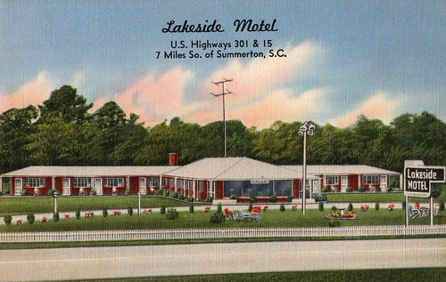 Lakeside Motel Summerton front