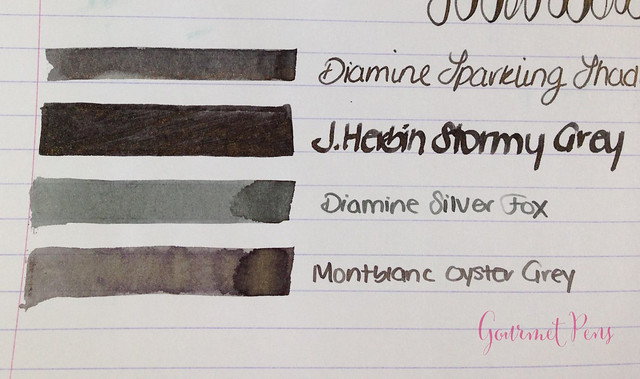 Ink Shot Review Diamine Sparkling Shadows (7)